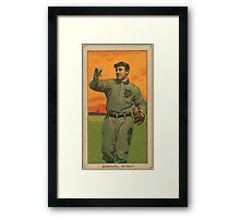 Benjamin K Edwards Collection Wild Bill Donovan Detroit Tigers baseball card portrait 001 Framed Print