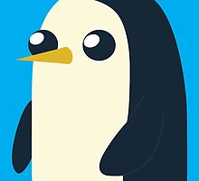 Gunter the Penguin by paolowhoa