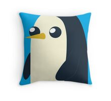 Gunter the Penguin Throw Pillow