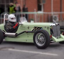 MG TC Blanden Special 1948 by Geoffrey Higges