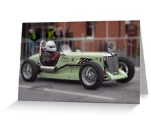 MG TC Blanden Special 1948 Greeting Card