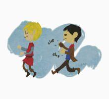Let us Ride, Merlin! by leialeaf