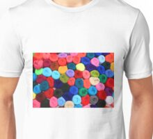 Colorful Balls of Yarn Unisex T-Shirt