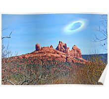 Vortex Over Sedona Poster