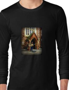 Exeter Street Musician Long Sleeve T-Shirt