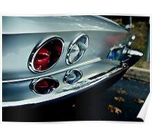 Sweet Corvette Poster