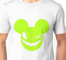 Scary Mickey sickly yellow Unisex T-Shirt
