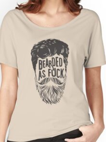 BEARDS ARE AWESOME Women's Relaxed Fit T-Shirt