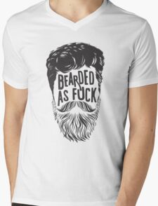 BEARDS ARE AWESOME Mens V-Neck T-Shirt