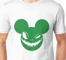 Scary Mickey Green Unisex T-Shirt