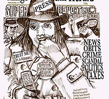Super Reporter by Seth  Weaver