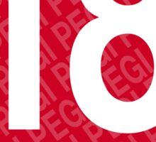 Pegi 18 - under over eighteen Sticker