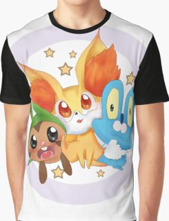Pokemon xy starter  Graphic T-Shirt