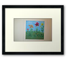Happy pedals Framed Print