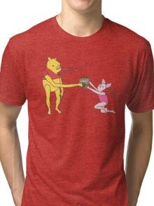 Bee syrup Tri-blend T-Shirt
