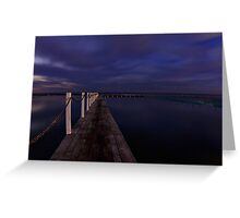 North Narrabeen Howling Greeting Card