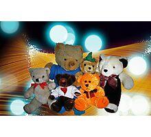 Disco Bears Photographic Print