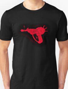 Sketchy red Ray gun Unisex T-Shirt