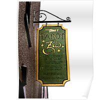 Madam Zia's Tarot Readings Poster