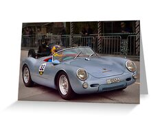Porsche 550 Spyder Replica 1961 Greeting Card