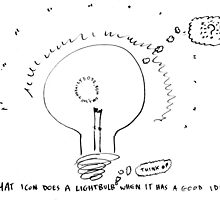 What do lightbulbs think? by bubbleicious