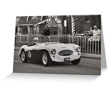 Austin Healey 100S 1955 Greeting Card