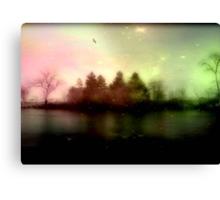 Magic falls upon the night... © Canvas Print