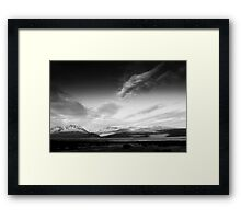 Southern Alps, New Zealand Framed Print