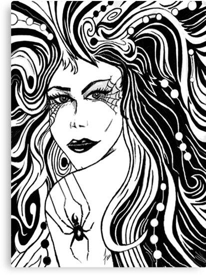 """Black Arachnid"" by Steve Farr"