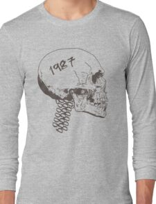 Vintage Skull Long Sleeve T-Shirt