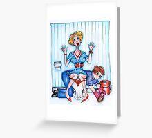 Loo Lady - Sally Greeting Card