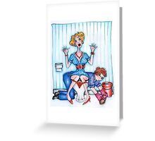 Loo Lady - Sally Greeting Card