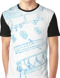 Engineering sketch Graphic T-Shirt