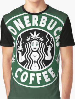 Stonerbucks Coffee Graphic T-Shirt