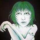 Green girl by Knickersart