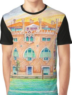 Venice neo-gothic palace Graphic T-Shirt