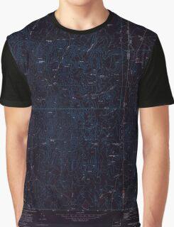 USGS Topo Map Oregon Parsnip Peak 281044 1969 24000 Inverted Graphic T-Shirt
