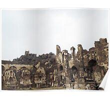 Golconda Ruins Poster
