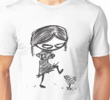 Aracnakid w/white background Unisex T-Shirt