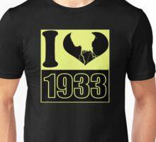I love 1933 - Vintage T-Shirt Unisex T-Shirt