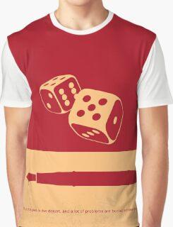 No348 My Casino minimal movie poster Graphic T-Shirt
