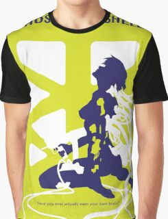 No366 My Ghost in the Shell minimal movie poster Graphic T-Shirt