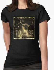 I love 1932 - Vintage lightning and fire T-Shirt Womens Fitted T-Shirt