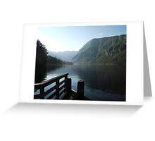 Bohinj at its best Greeting Card