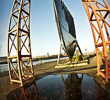 Titanic Series No5. Bow Section Reflection by Chris Cardwell