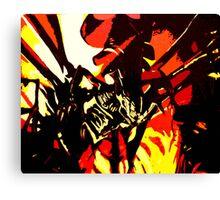 Alien Queen Hive Canvas Print