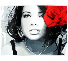 Lima Rose Poster