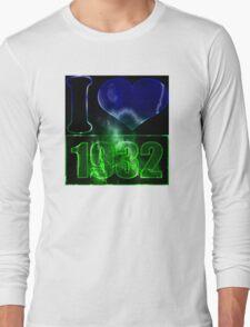 I love 1932 - lighting effects T-Shirt Long Sleeve T-Shirt
