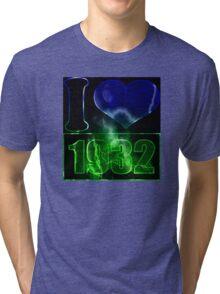 I love 1932 - lighting effects T-Shirt Tri-blend T-Shirt