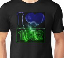 I love 1932 - lighting effects T-Shirt Unisex T-Shirt